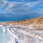 Coast of the Dead Sea.